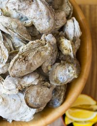 How to Steam and Shuck Oysters