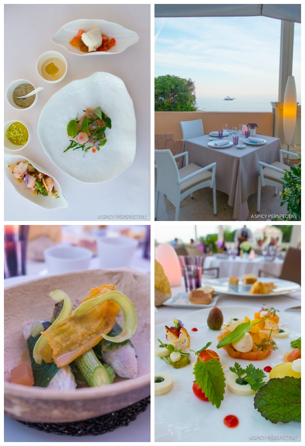 Blue Bay Restaurant - Monte Carlo Monaco on ASpicyPerspective.com #travel #frenchriviera #cotedazur
