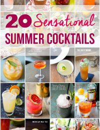 20 Sensational Summer Cocktails on ASpicyPerspective.com
