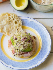 Easy Ham and Cheese Breakfast Panini on ASpicyPerspective.com