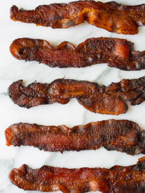 Coke soaked Bacon on ASpicyPerspective.com
