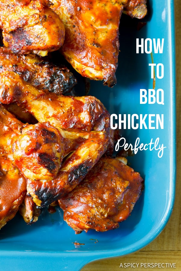 How to BBQ Chicken Tutorial - Tips and Tricks for Perfect Grilled Chicken!