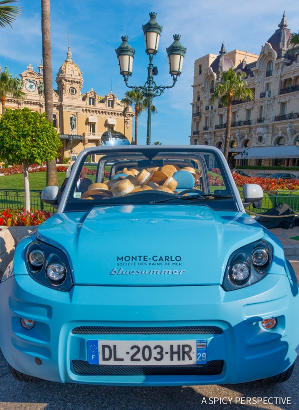 Living it Up in Monte Carlo Monaco on ASpicyPerspective.com #travel #frenchriviera #cotedazur