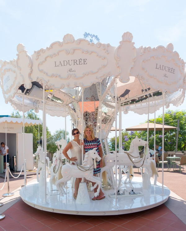 Laduree Carousel Monte Carlo Monaco on ASpicyPerspective.com #travel #frenchriviera #cotedazur