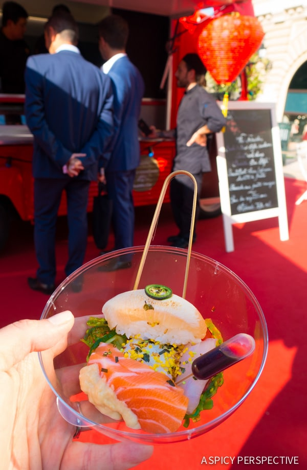 Buddha Bar Sushi in Monte Carlo Monaco on ASpicyPerspective.com #travel #frenchriviera #cotedazur