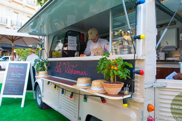 Food Trucks - Monte Carlo Monaco on ASpicyPerspective.com #travel #frenchriviera #cotedazur