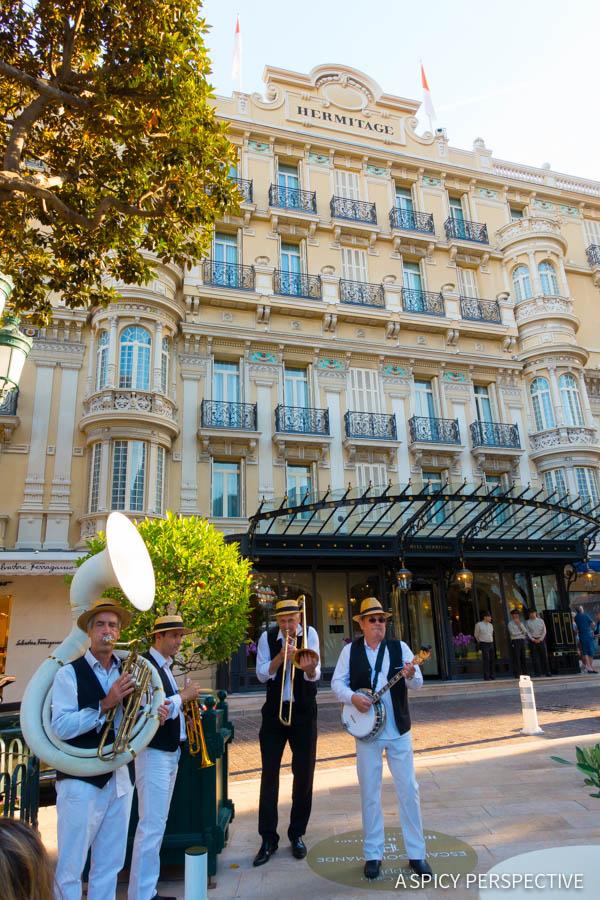 Hotel Hermitage - Monte Carlo Monaco on ASpicyPerspective.com #travel #frenchriviera #cotedazur