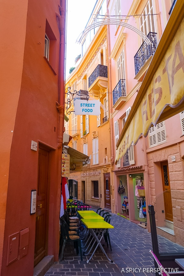 Old Town Monte Carlo Monaco on ASpicyPerspective.com #travel #frenchriviera #cotedazur