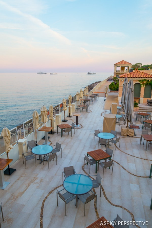 Blue Bay - Monte Carlo Monaco on ASpicyPerspective.com #travel #frenchriviera #cotedazur