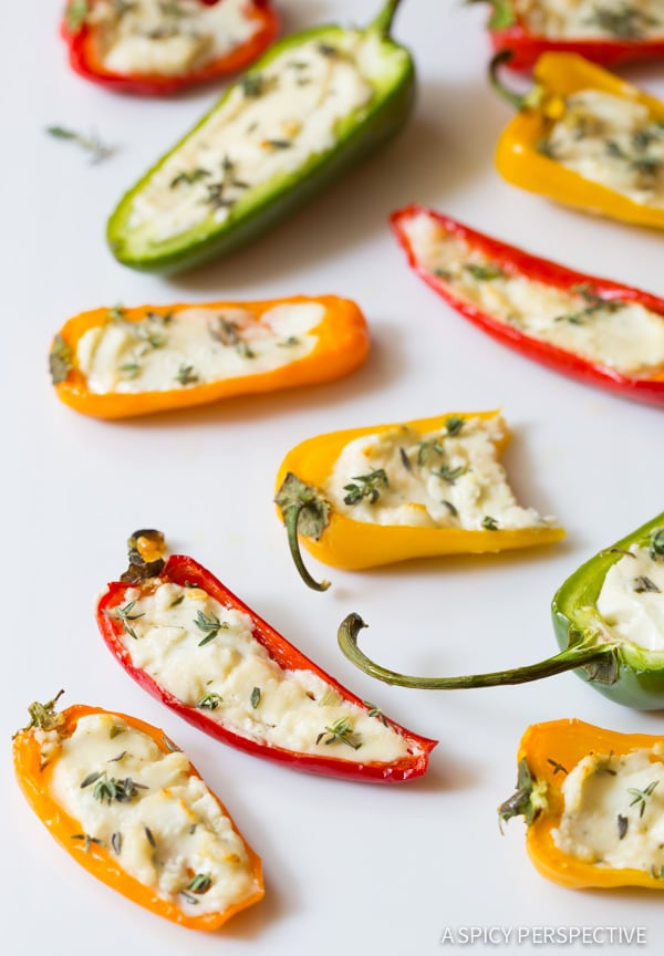 3-Ingredient Mini Stuffed Peppers Recipe