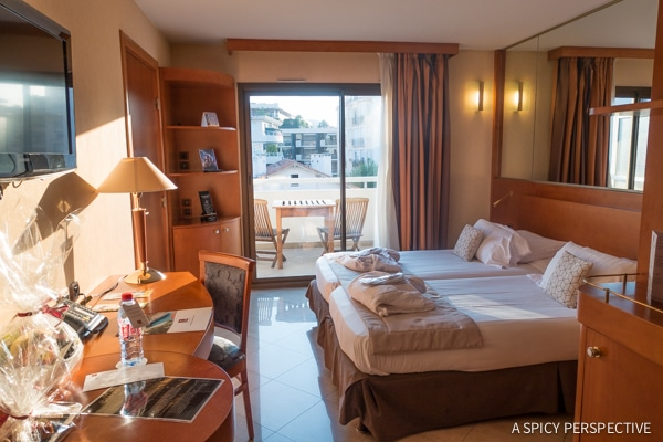 Clarion Suites in Cannes, France on ASpicyPerspective.com #travel #france