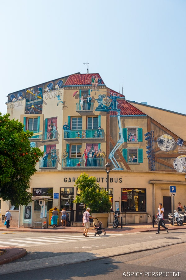 Visiting Cannes, France on ASpicyPerspective.com #travel #france