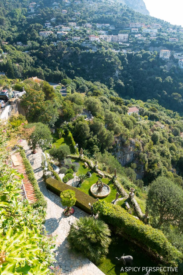 Gardens in Eze, France - Travel Tips and Photography on ASpicyPerspective.com