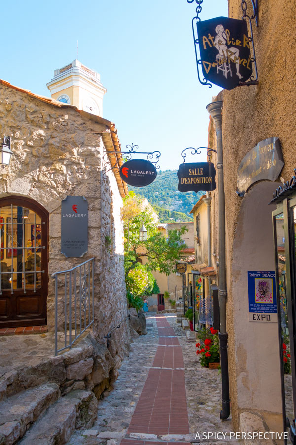 Lovely Eze, France - Travel Tips and Photography on ASpicyPerspective.com