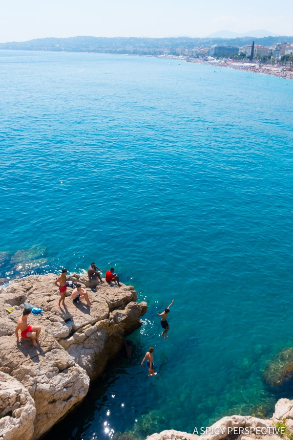 Jumping Off from Nice, France - Travel Tips and Photography on ASpicyPerspective.com