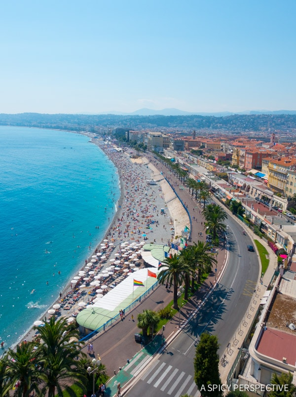 Promenade des Anglais Nice, France - Travel Tips and Photography on ASpicyPerspective.com