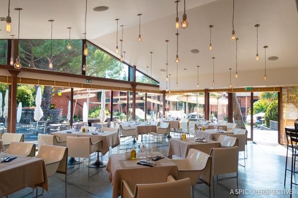 Hotel Benkirai in Saint Tropez, France on ASpicyPerspective.com #travel #france