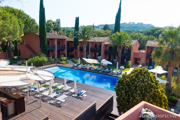 Luxurious Hotel Benkirai in Saint Tropez, France on ASpicyPerspective.com #travel #france