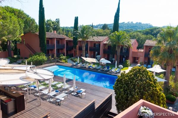 Luxurious Hotel Benkirai in Saint Tropez, France on ASpicyPerspective.com #travel #france