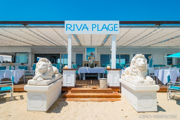 Beach Clubs in Saint Tropez, France on ASpicyPerspective.com #travel #france
