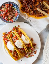 Zesty Bacon Ranch Jalisco Tacos Recipe on ASpicyPerspective.com