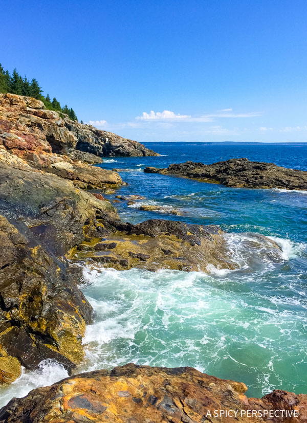 Acadia National Park - Bar Harbor, Maine on ASpicyPerspective.com #travel