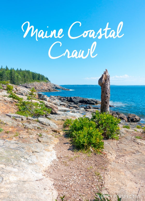 Maine Coastal Crawl on ASpicyPerspective.com #travel