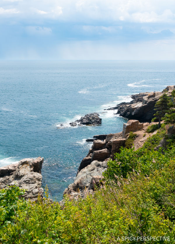 Great Head Trail in Acadia National Park Maine - on ASpicyPerspective.com #travel