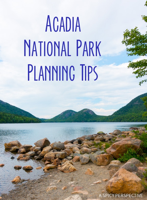 Planning Tips for Acadia National Park Maine - on ASpicyPerspective.com #travel
