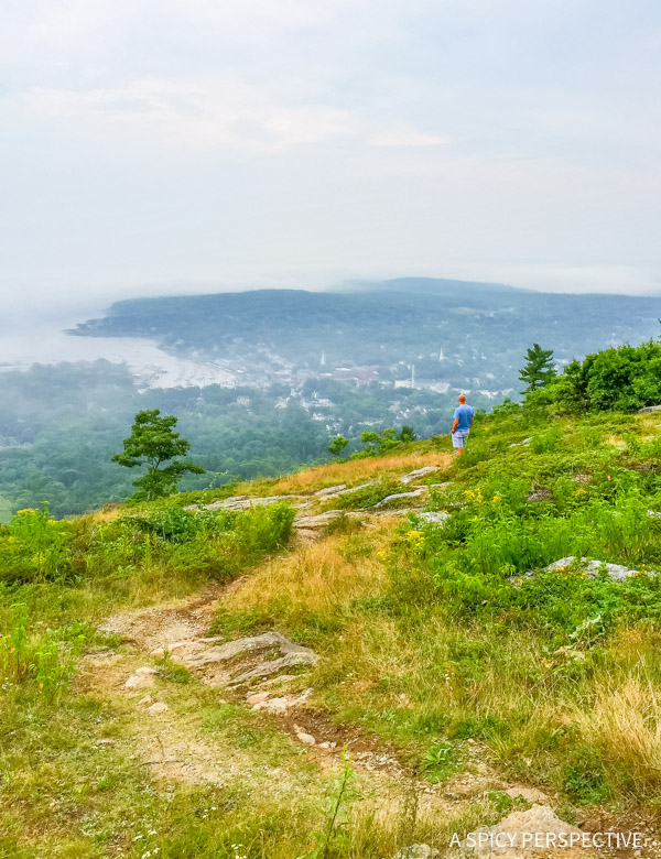 Mount Battie - Maine Coast Crawl on ASpicyPerspective.com #travel