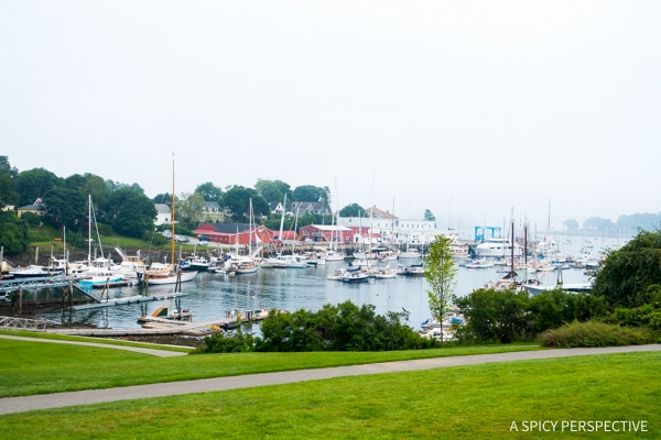 Camden, Maine Coast Crawl on ASpicyPerspective.com #travel