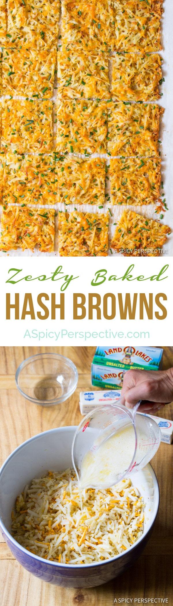 Zesty Herb Hash Browns