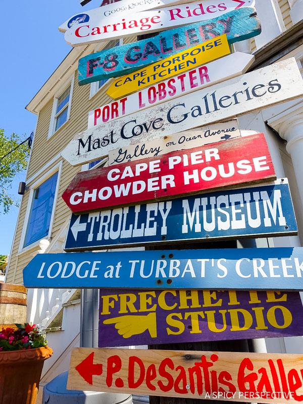 Kennebunkport, Maine Coast Crawl on ASpicyPerspective.com #travel