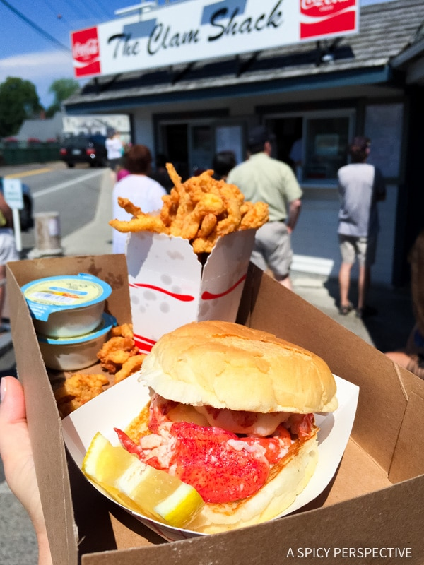 The Clam Shack in Kennebunkport, Maine Coast Crawl on ASpicyPerspective.com #travel