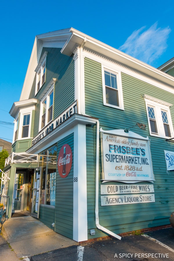 Frisbee's Market in Kittery, Maine on ASpicyPerspective.com #travel