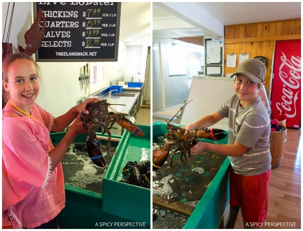 Big Lobsters in Kennebunkport, Maine Coast Crawl on ASpicyPerspective.com #travel