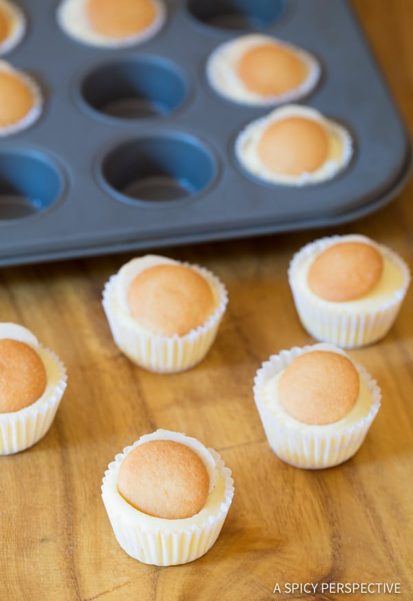 Amazing Mini Banana Cream Pie Recipe (Banana Pudding Tarts) on ASpicyPerspective.com
