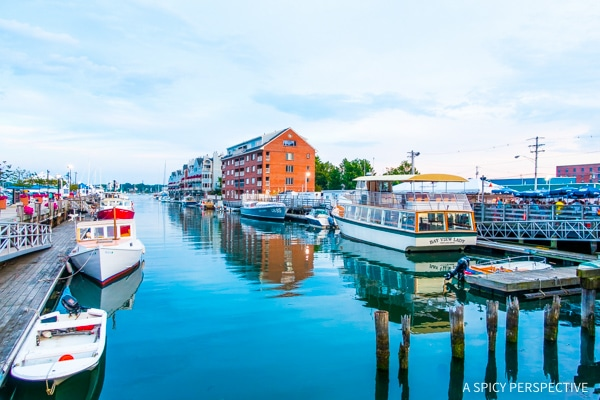 Pretty Portland, Maine on ASpicyPerspective.com #travel