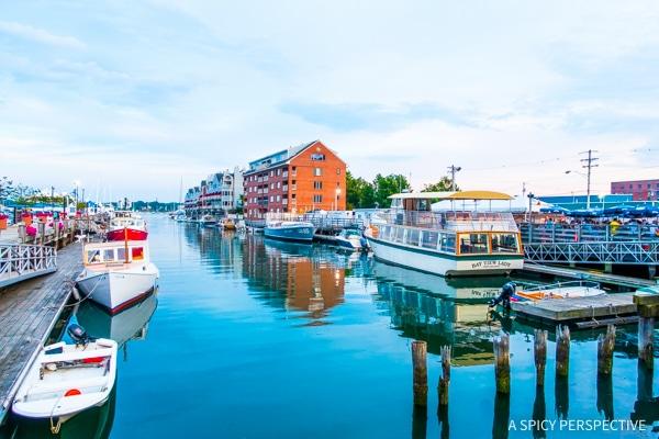 Pretty Portland, Maine on ASpicyPerspective.com #travel