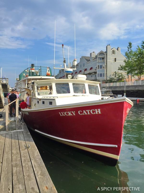 Lucky Catch Cruises in Portland, Maine Coast Crawl on ASpicyPerspective.com #travel