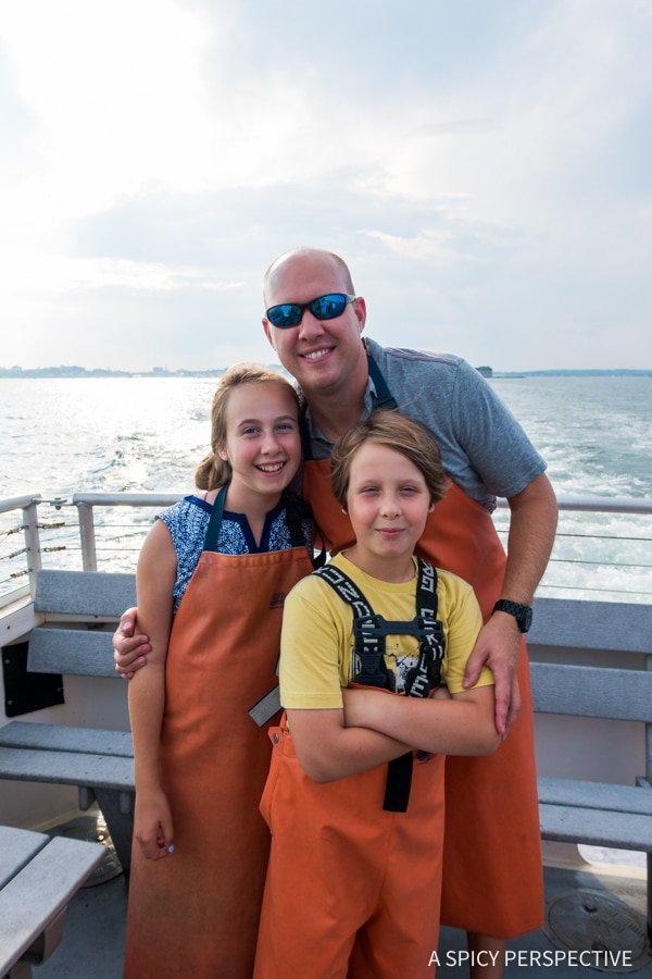 Fun with Lucky Catch Cruises in Portland, Maine Coast Crawl on ASpicyPerspective.com #travel