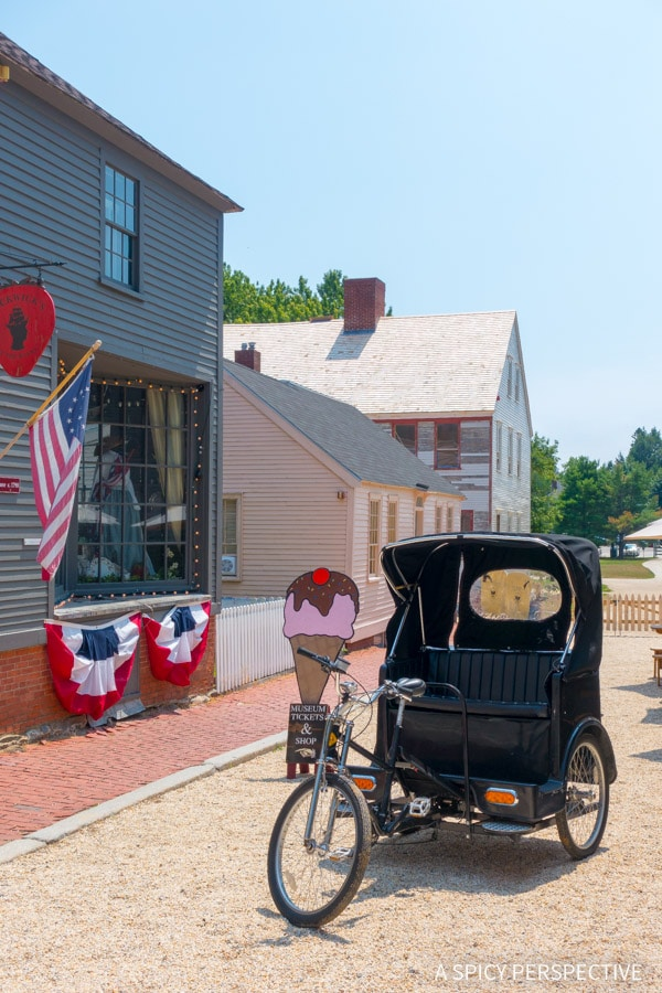 Strawbery Banke in Portsmouth, NH on ASpicyPerspective.com #travel