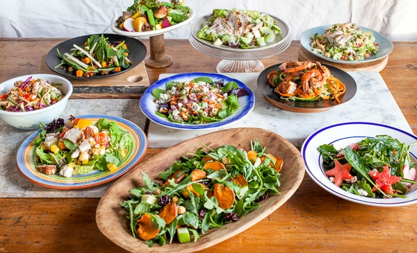 Newman's Own Greens for Good Salad Contest Finalists