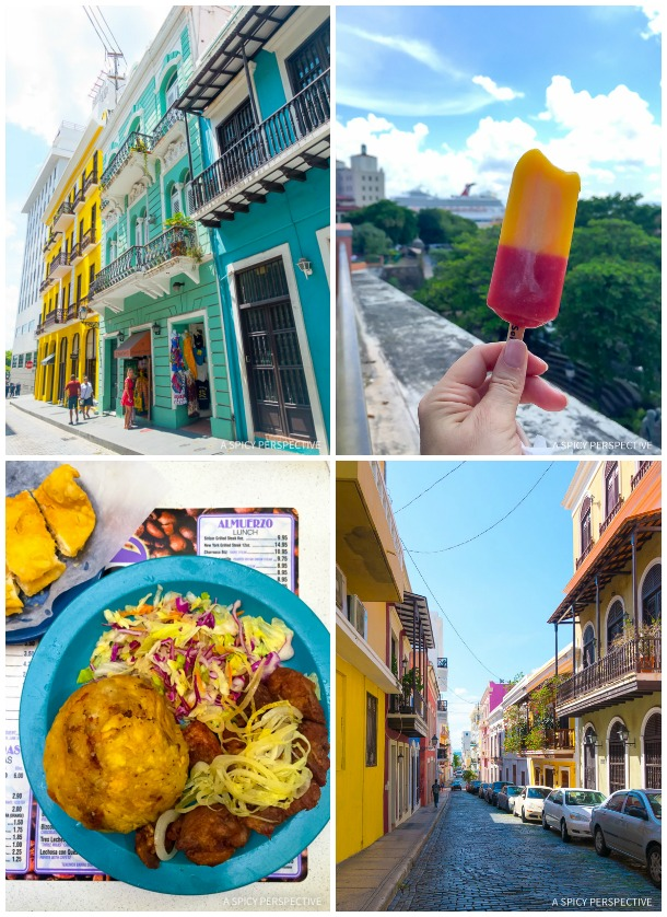 Cruising for Foodies - Carnival Sunshine in San Juan Puerto Rico
