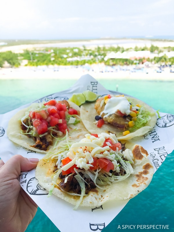 Cruising for Foodies - Carnival Sunshine BlueIguana Cantina