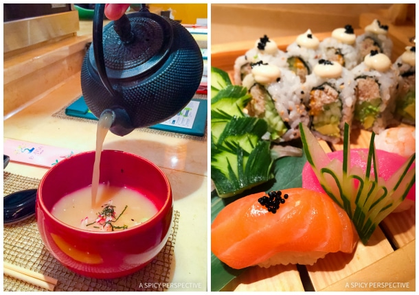 Cruising for Foodies - Bonsai Sushi on the Carnival Sunshine Ship