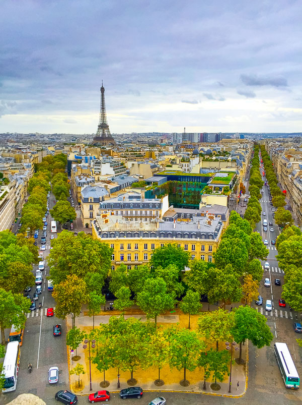 Views of Paris - Planning Tips for 1 Day in Paris Up to 7 Days in Paris on ASpicyPerspective.com #travel