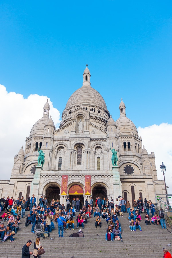 Sacre Coeur - Things to Do in Paris - Planning Tips for 1 Day in Paris Up to 7 Days in Paris on ASpicyPerspective.com #travel