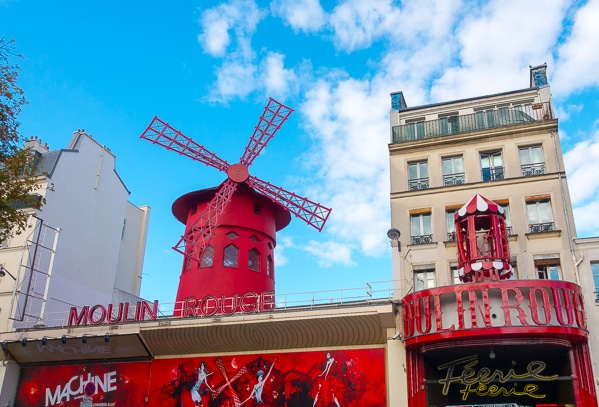 Moulin Rouge - Planning Tips for 1 Day in Paris Up to 7 Days in Paris on ASpicyPerspective.com #travel