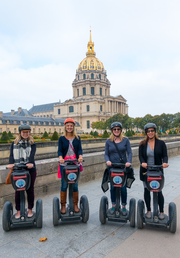Segway Tour - Paris Planning Tips for 1 Day in Paris Up to 7 Days in Paris on ASpicyPerspective.com #travel